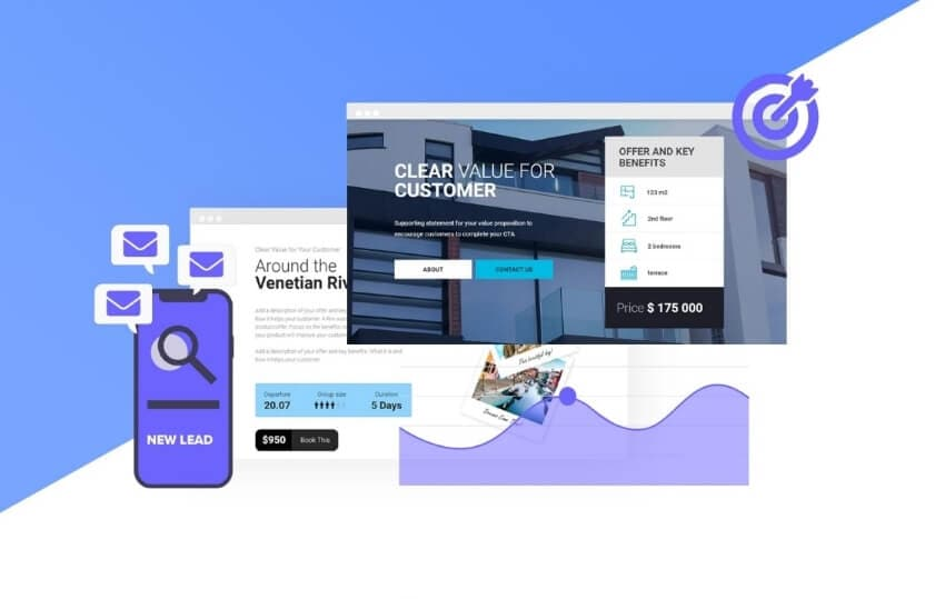 tips to design landing page