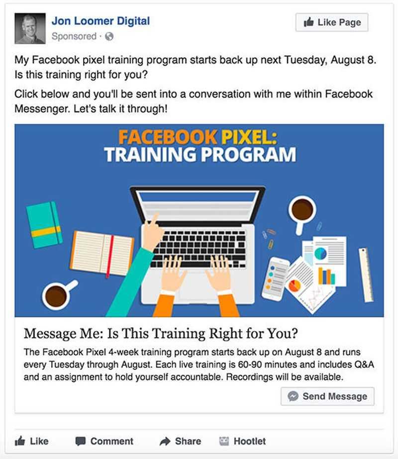 facebook ads headline