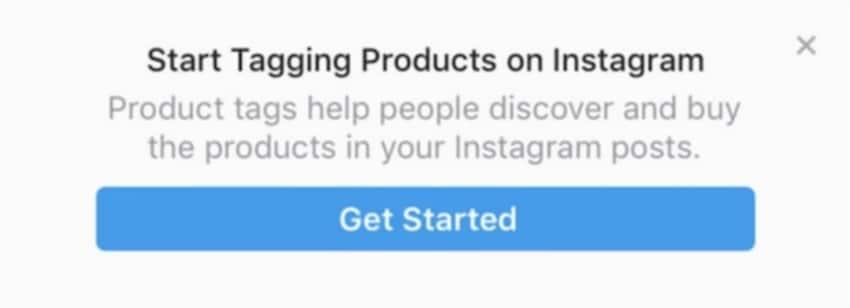 initiate tagging process