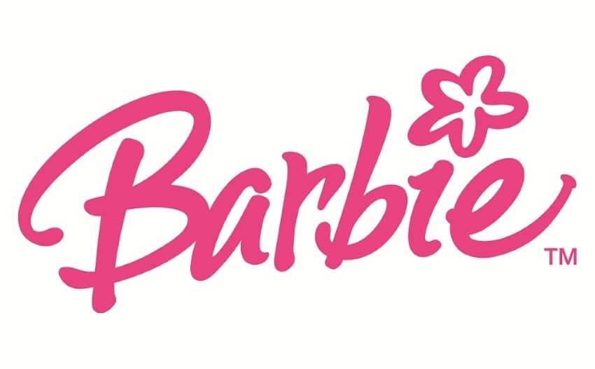 pink logo color design