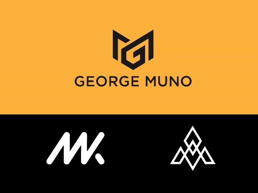 minimalistic monogram logo design