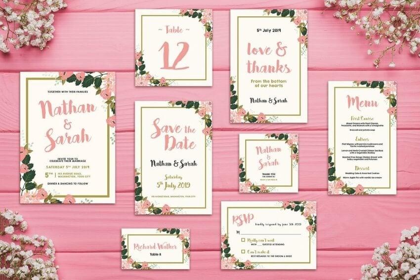 bring innovation in wedding card design