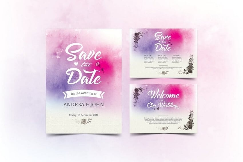 wedding invitation card outlook and display