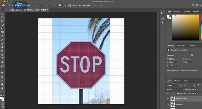 photoshop pen tool 1