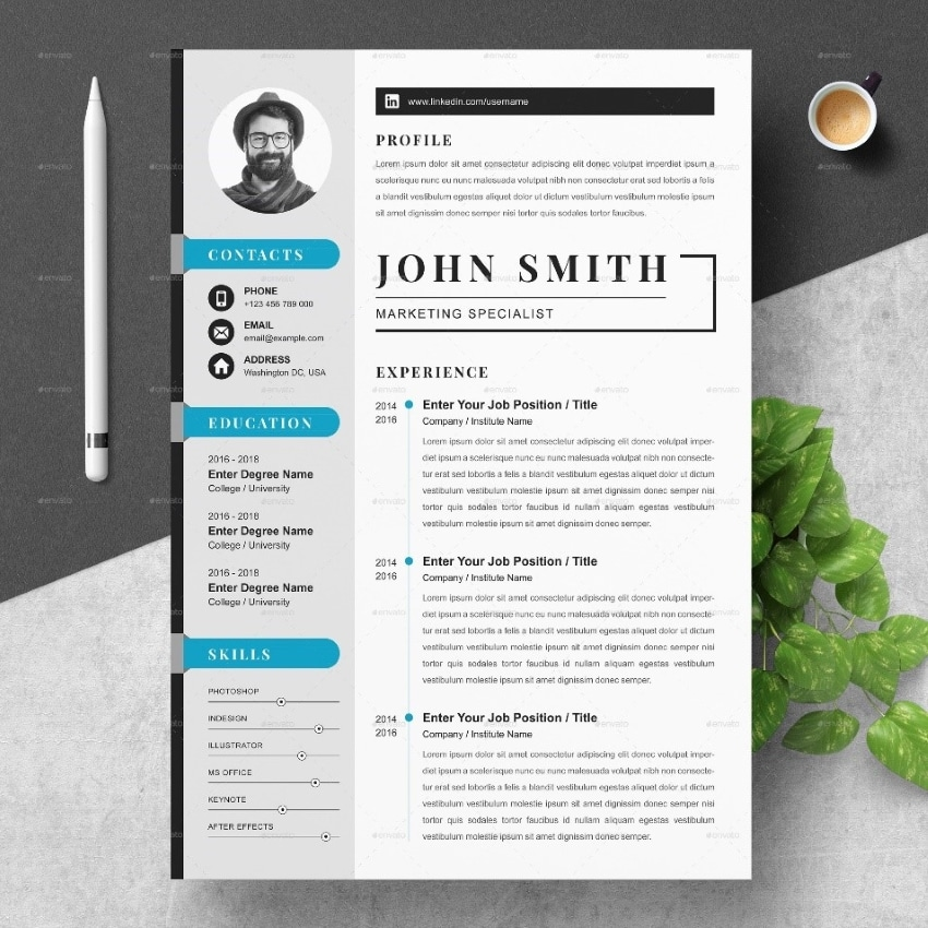 tips to follow while designing a resume