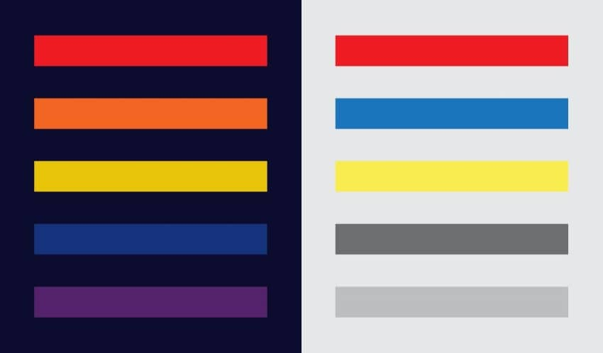 color and contrast in visual hierarchy