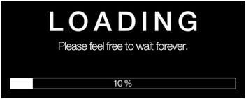 website loading for long