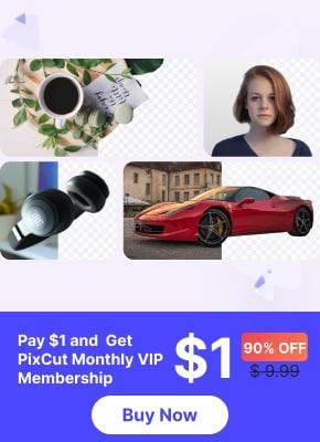 pixcut one dollar campaign