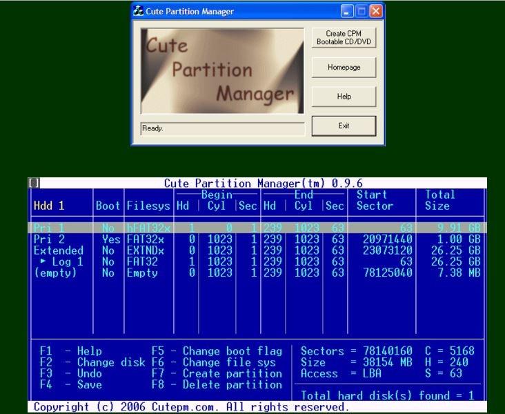 gestionnaire de partition 06