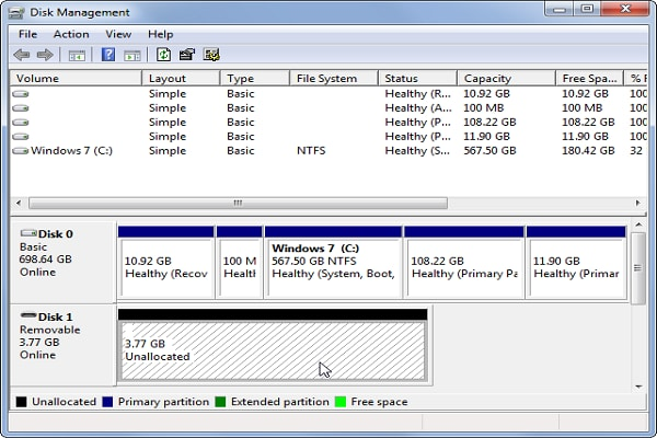 externe Festplatte wird nicht erkannt
