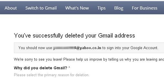 how to delete a Gmail account-delete successfully