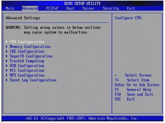 how to disable smart error screen