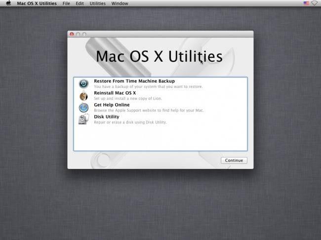 Reinstalar o MAC OS X