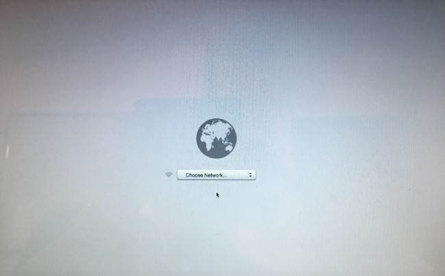 Como reinstalar o MAC OS X usando o modo de recuperação pela Internet