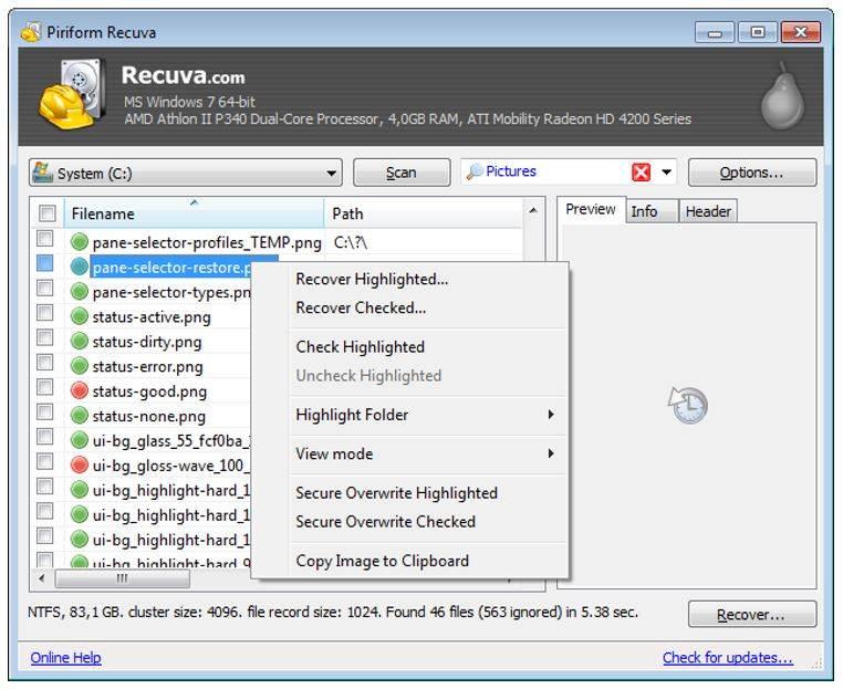 USB Wiederherstellungs-Tool zum Wiederherstellen von Dateien von USB-Sticks