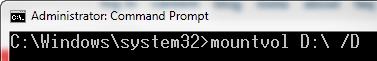 ocultar partición en Windows 10 paso 2