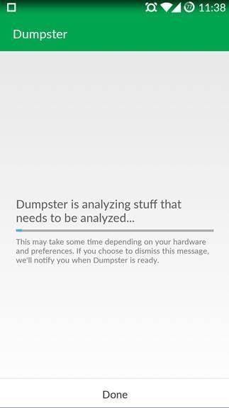 Die Dumpster Bild- & Videowiederherstellung zur Wiederherstellung gelöschter Dateien