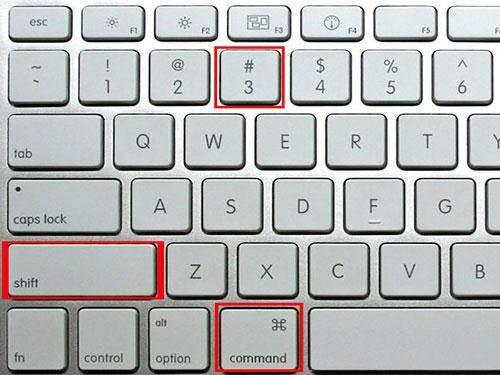 How to capture screenshot on Mac-entire screen