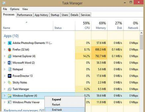 remover arquivos corrompidos - encerrar a tarefa