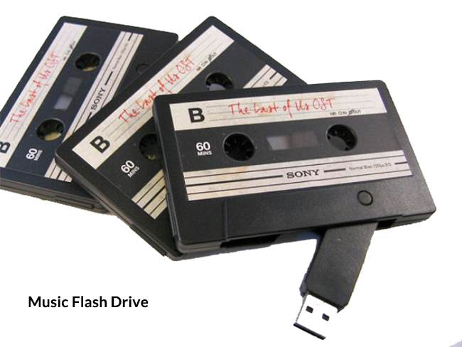Different types of flash drives-music flash drive