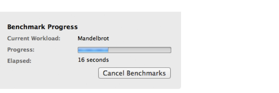 Geekbench Speed Test for Mac Hard Drive