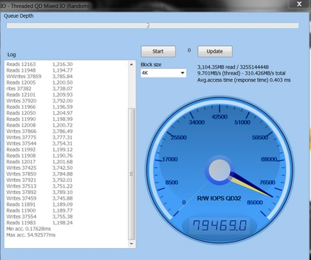 Hard Disk Speed Test for Windows-Anvil-2
