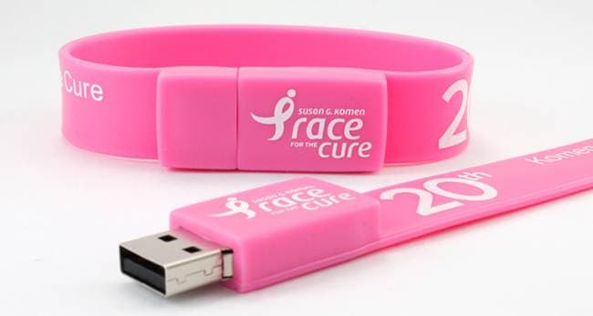 Different types of USB flash drives-wristband usb flash drive