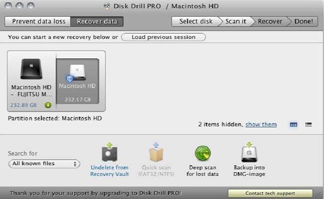 Software Gratuito para Recuperar Free Datos de Mac-Disk Drill Pro
