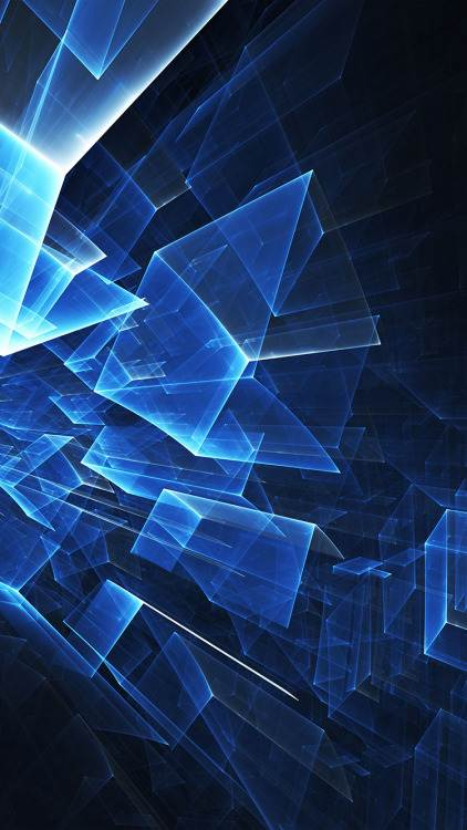 Hottest iphone wallpapers on tumblr-blue cube pattern