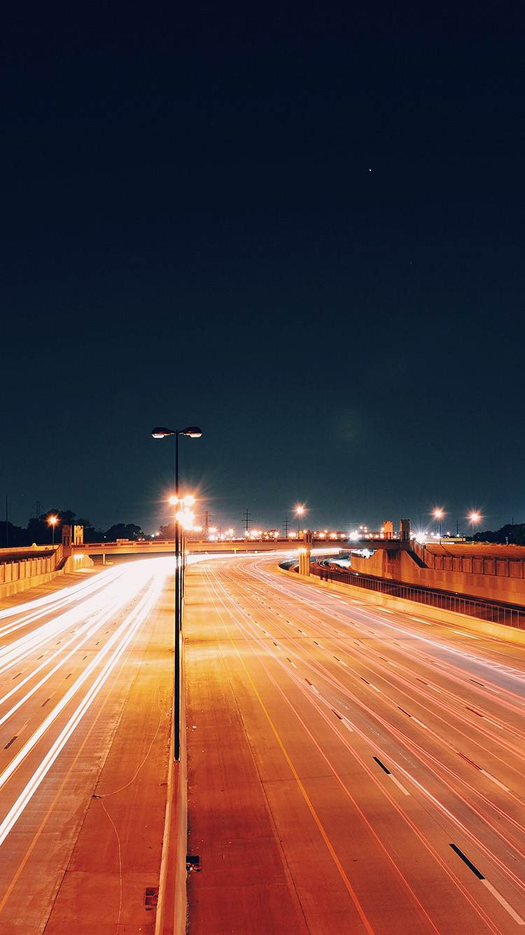 Hottest iphone wallpapers on tumblr-well-lit highway