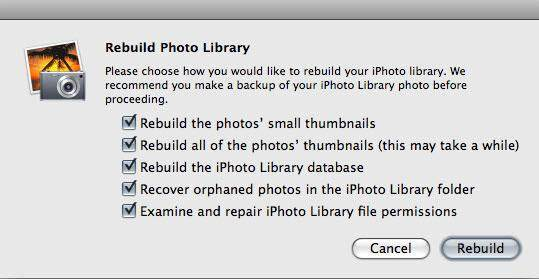 how to recover iphoto