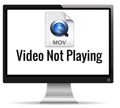 quicktime mov no reproduce