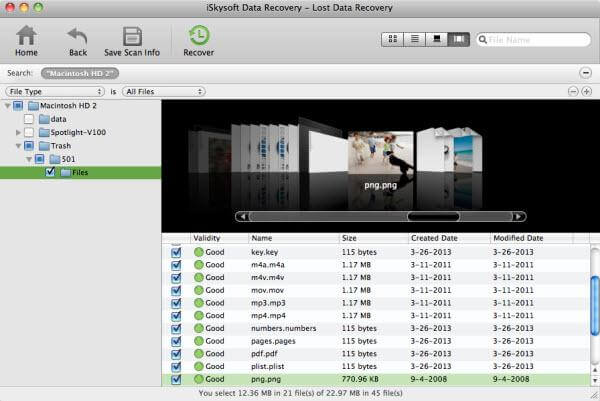 Mac data recovery software for Mac OS X El capitan -iskysoft Mac data recovery