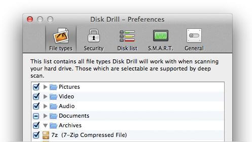software Mac de recuperación de datos para Mac OS X El capitan-Disk Drill