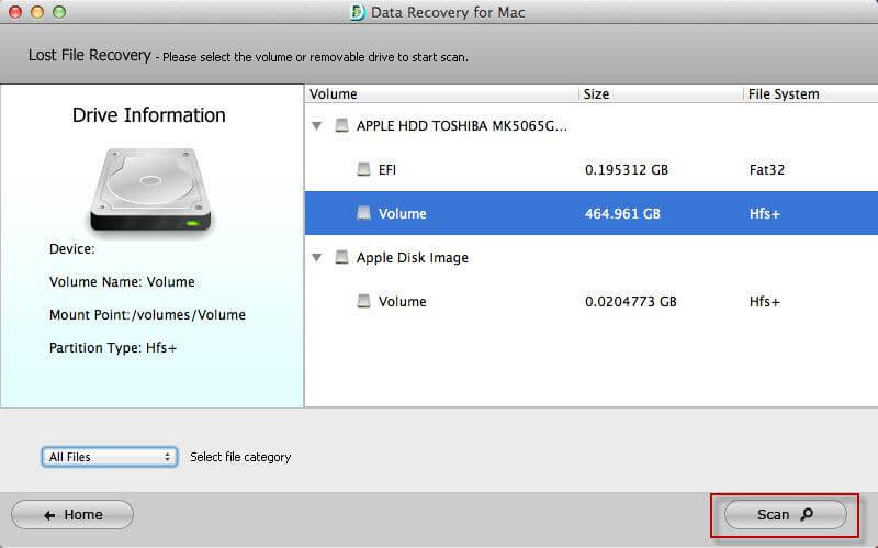data recovery software for Mac-Tenorshare data recovery for Mac