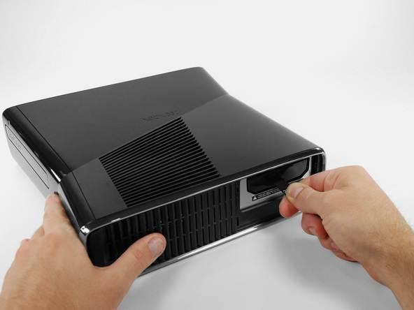 Xbox 360-Festplatte – HDD einsetzen