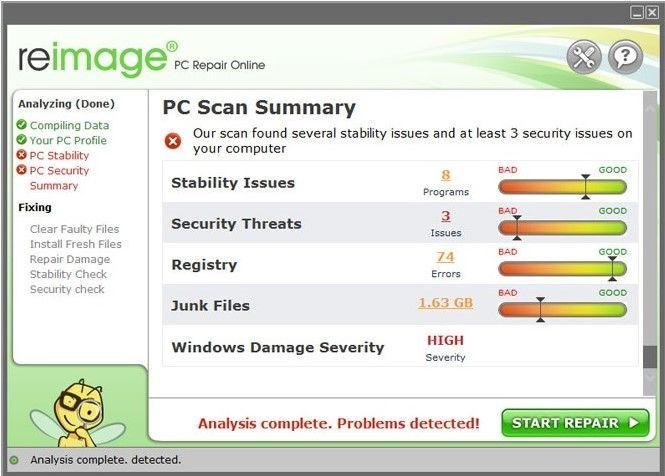 Software de recuperación para arreglar la pantalla azul bccode 50 error-paso 3