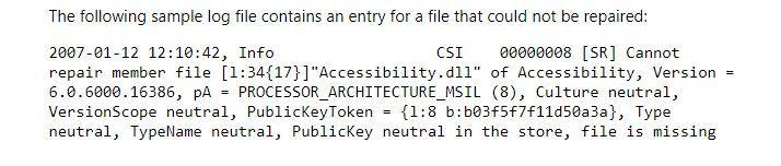 Systemdatei-Überprüfung ausführen, um Bluescreen 0x000000d1 Fehler zu beheben