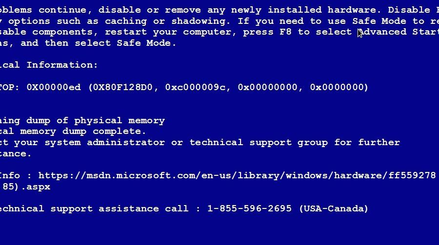 Introduction of what is blue screen of death