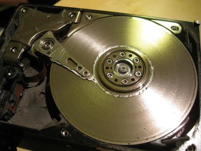Beschädigte Festplattensektoren