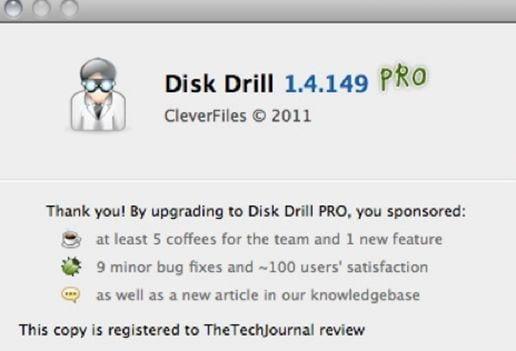 recuperação de disco rígido disk drill