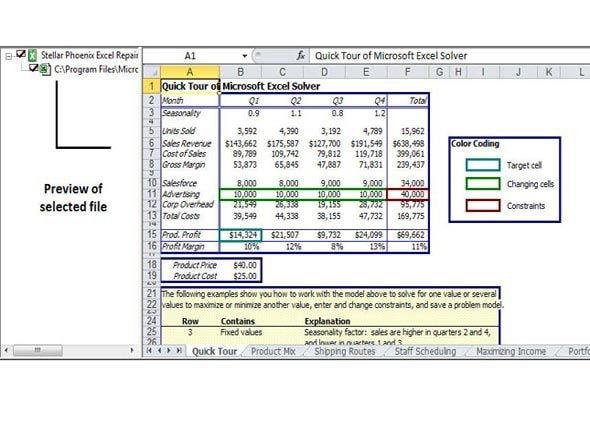 beschädigte Excel-Datei wiederherstellen Schritt 3