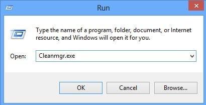 Verwenden des Befehls cleanmgr zur Behebung des Blue Screen of Death 0x0000007e
