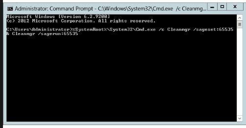 Limpiar los archivos temporales del sistema para arreglar la pantalla azul de la muerte 0x00000116