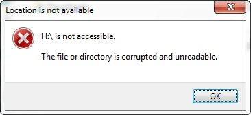 Beschädigter USB-Stick