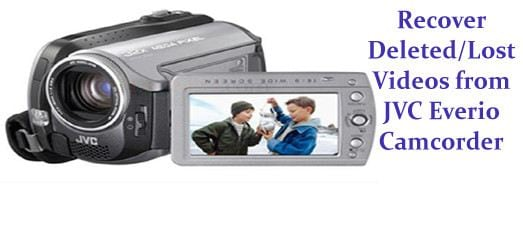 recover lost videos from jvc everio