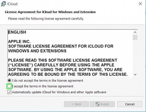 iCloud unter Windows einrichten 1