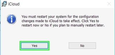 iCloud unter Windows einrichten 3