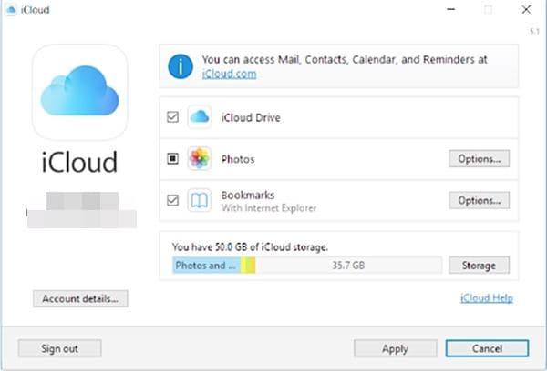 iCloud unter Windows einrichten 6