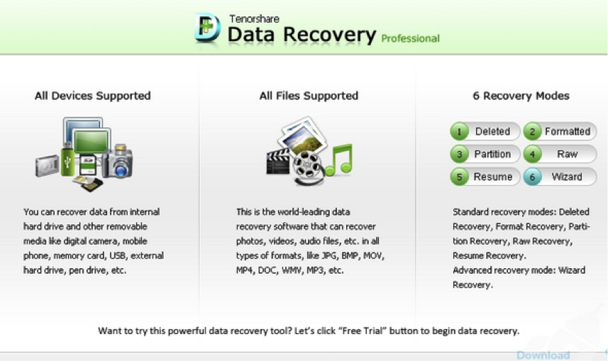 Top 10 Document Recovery Software-Tenorshare Document Recovery Software